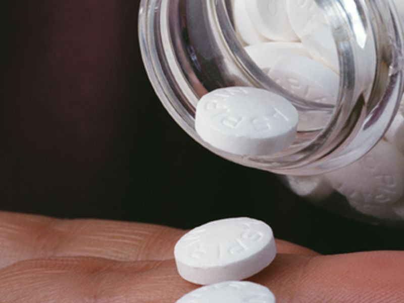 Docs Back Away From Low-Dose Aspirin for Heart Attack Prevention