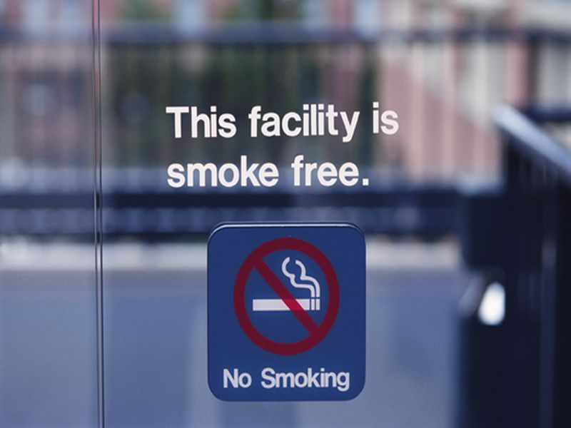 Smoke-Free Policies Linked to Lower Systolic Blood Pressure