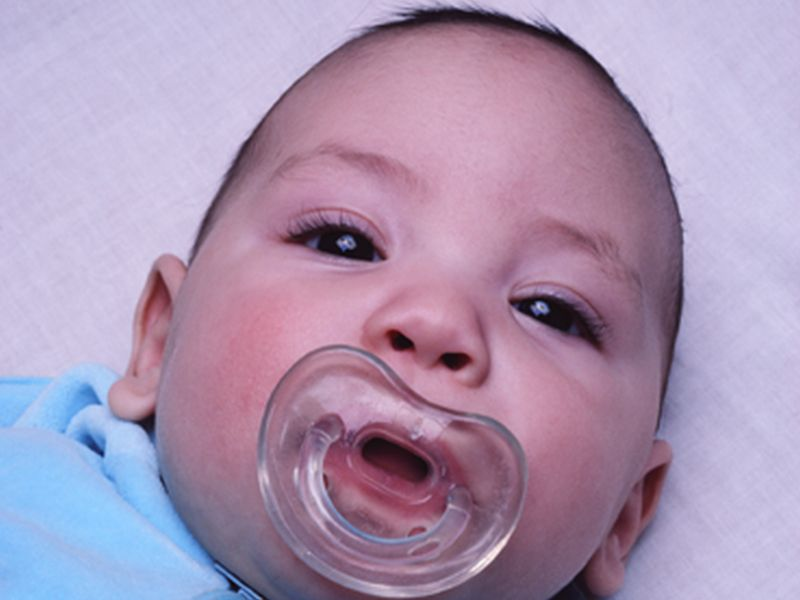 Cleaning Your Baby's Pacifier By Sucking On It May Do Baby Good
