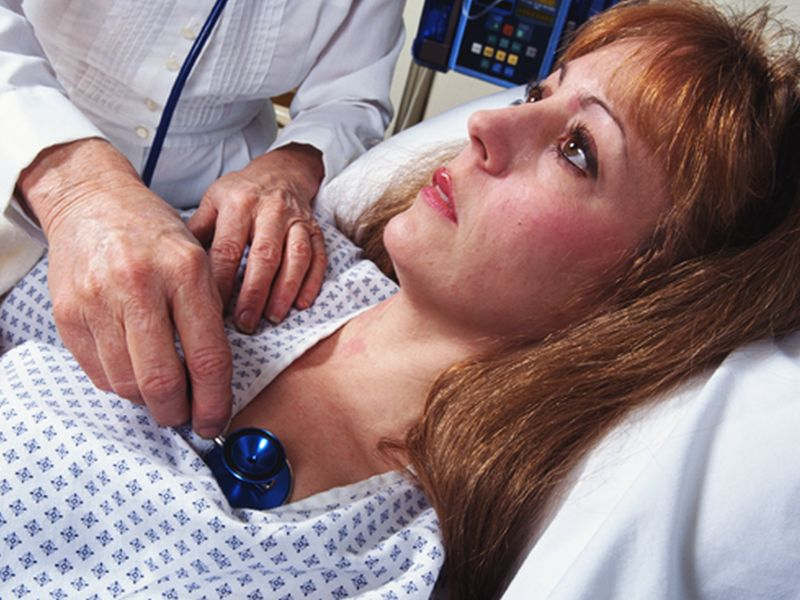Implanted Defibrillators Help Women as Much as Men: Study