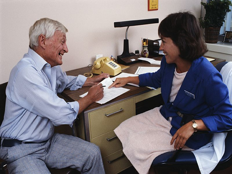 News Picture: Older Americans Struggling With Drug Costs Don't Ask for Help