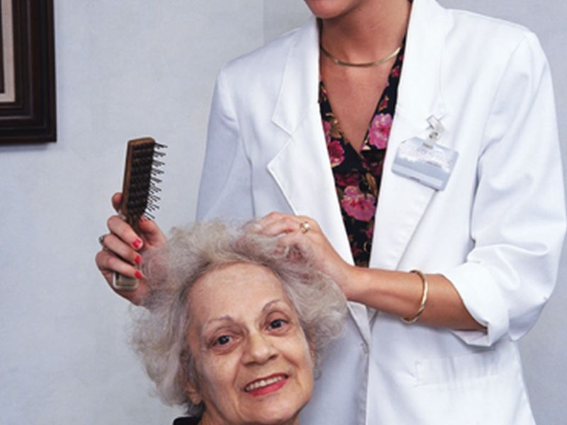 News Picture: Caring for Aging Parents