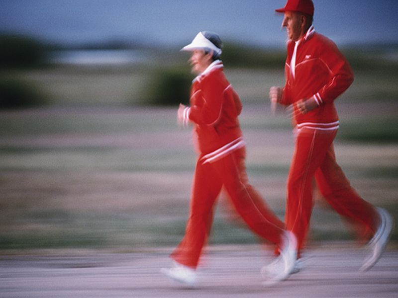 Older Runners Can Maintain Their 'Fuel Efficiency'