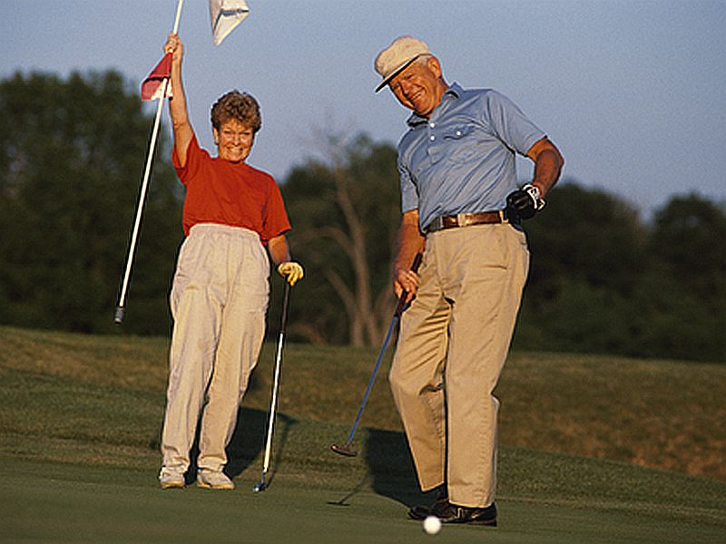Ditch the Golf Cart. Your Aging Knees Won`t Mind