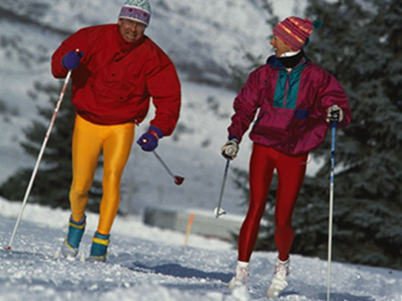 News Picture: Winter's No Reason to Hibernate: Head Outside for Some Sports Fun