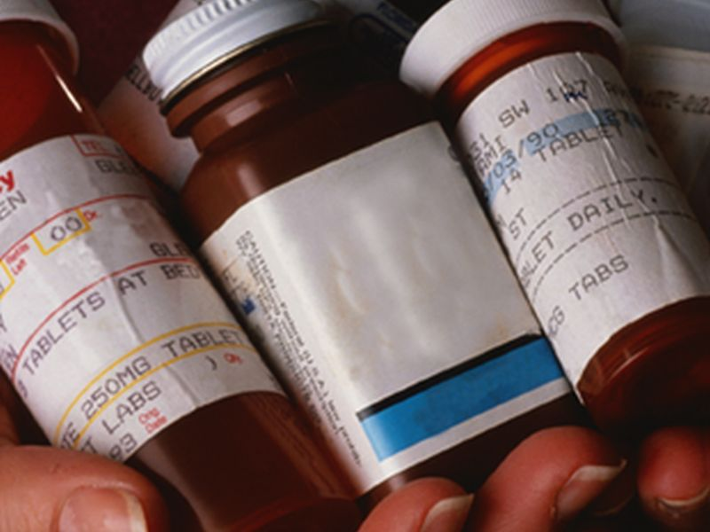 News Picture: Americans Taking More Prescription Drugs Than Ever: Survey