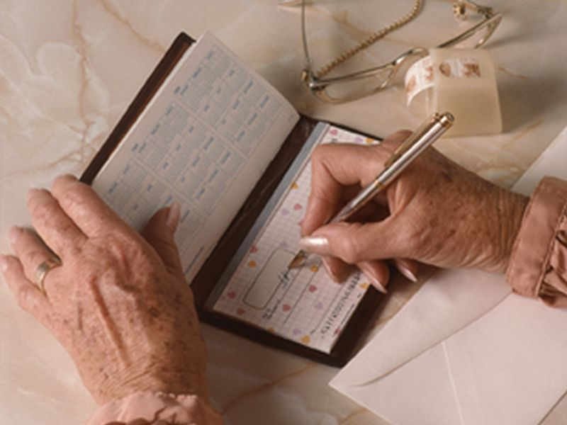 News Picture: Seniors Often Have Trouble Managing Money, Medicines