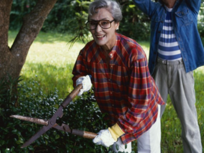 Even Gardening or Dancing Might Cut Alzheimer's Risk
