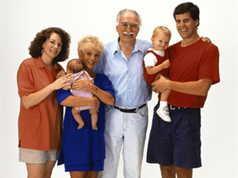 Family lifestyles may be as important to health as genes