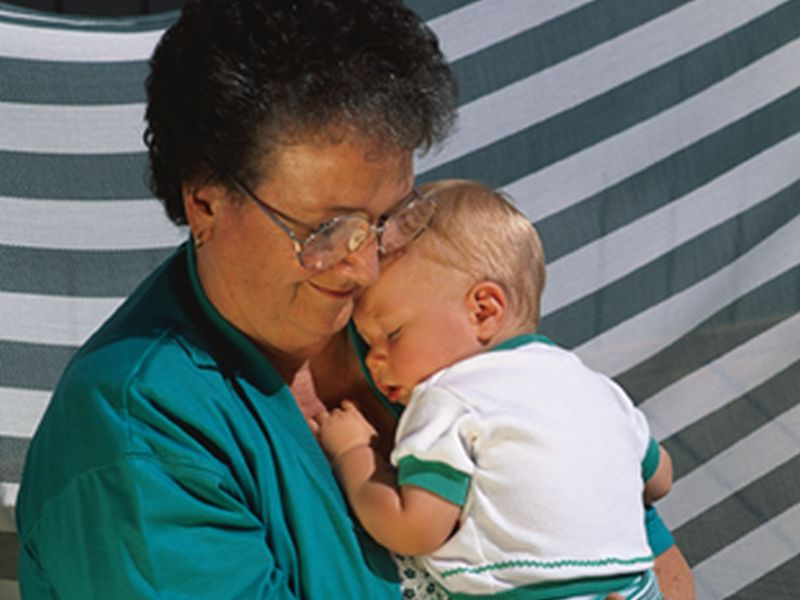 News Picture: U.S. Grandparents Are Raising Millions of Kids, and It's Tough