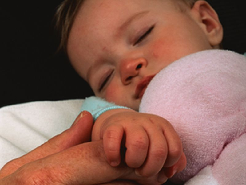 Day Care Babies Catch Stomach Bugs Earlier, But Get Fewer Later