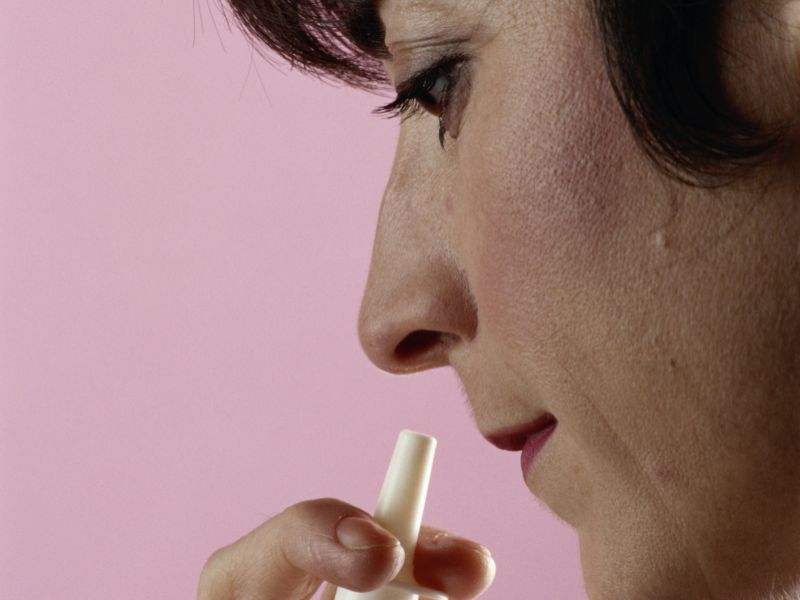 News Picture: For Diabetics, Nasal Powder Fixed Severe Low Blood Sugar