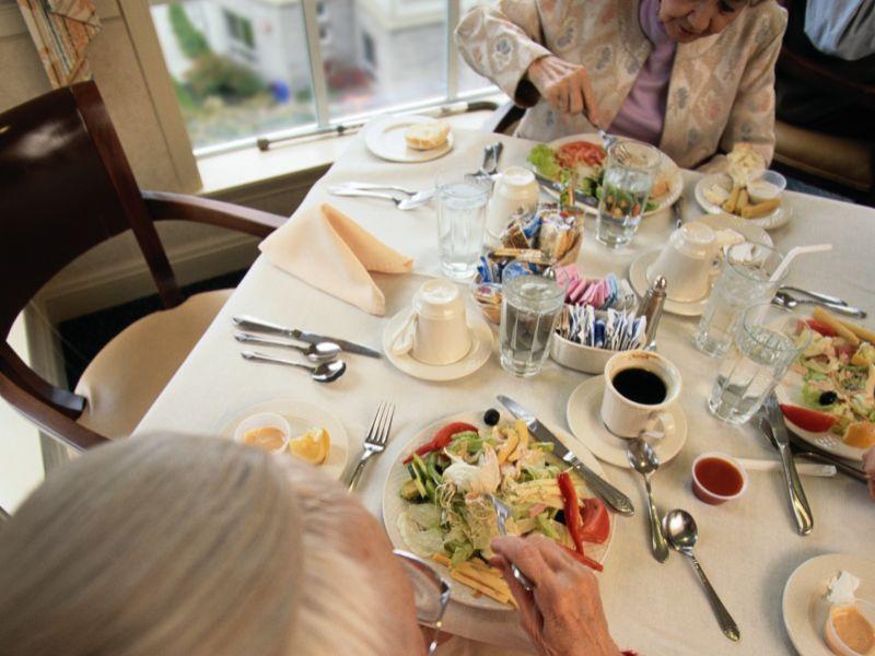 Le régime méditerranéen permet aux personnes âgées de conserver leur force physique