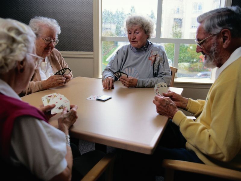 Staying socially active nourishes the aging brain