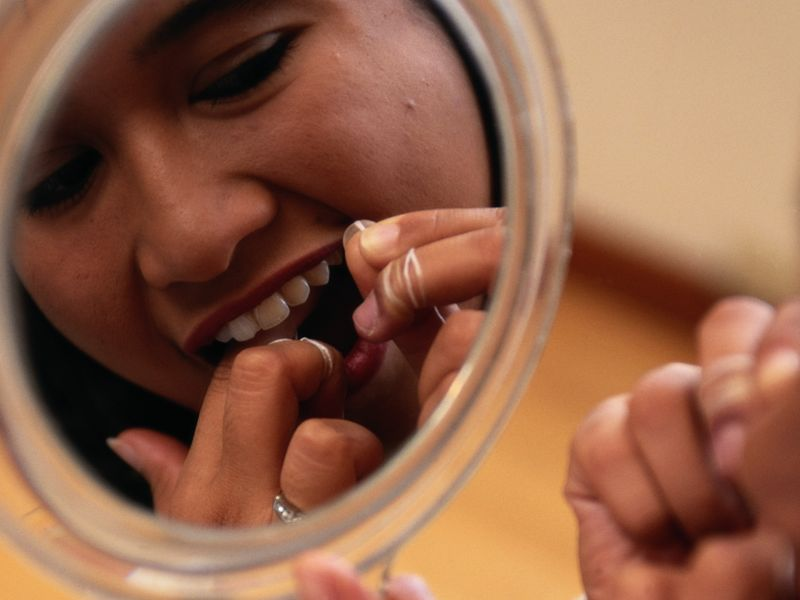 News Picture: Is All That Flossing Really Worth It?