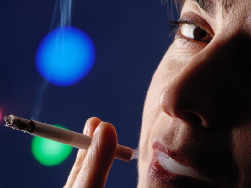 Women smokers at higher risk for brain bleed