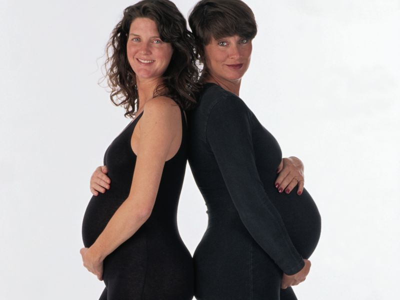 News Picture: Study Touts Benefits of Group Prenatal Care