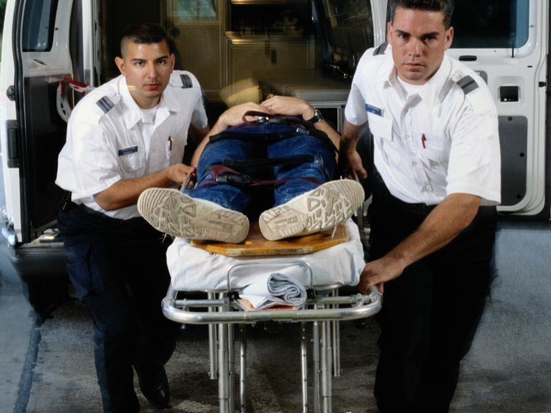 News Picture: Police-Inflicted Injuries Send 50,000 to ER Annually in U.S.