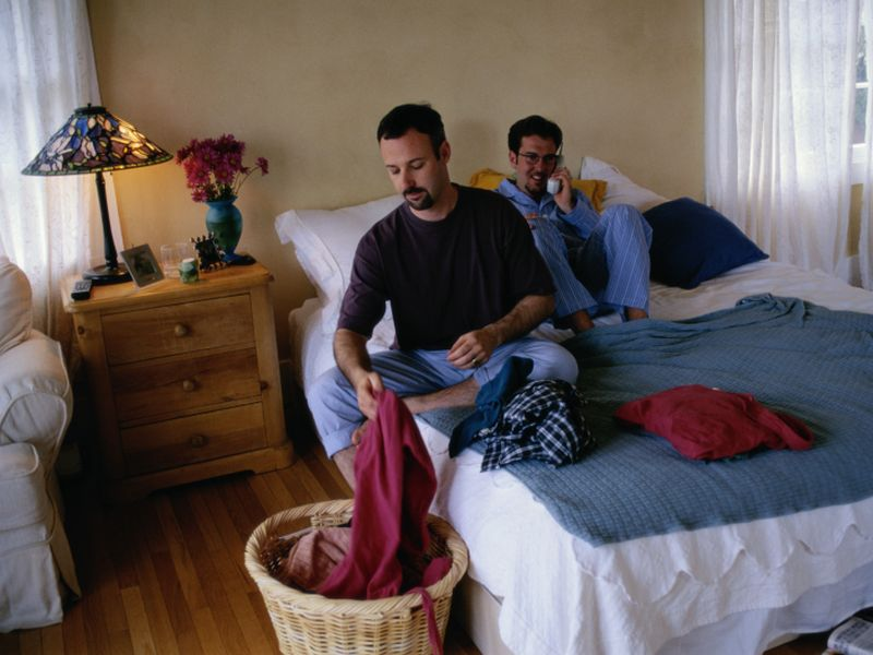 Remaining 'In the Closet' at Work Stresses Gay Couples