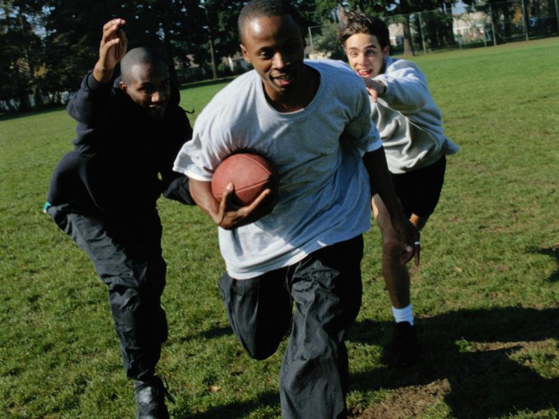 Turkey Day Touch Football Might Lead to Ankle Injuries