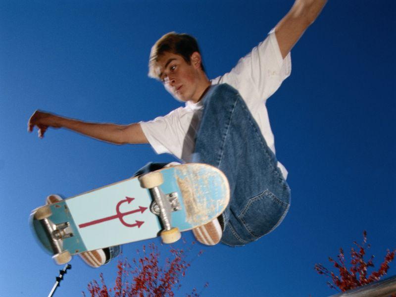 Skateboarding mishaps send 176 U.S. kids to ERs every day