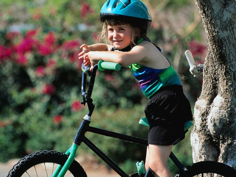25 U.S. Kids Treated in ERs Every Hour for Bike Injuries