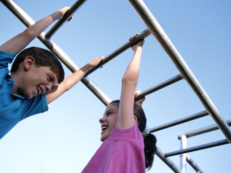 News Picture: Stronger Muscles May Pump Up Kids' Memory Skills