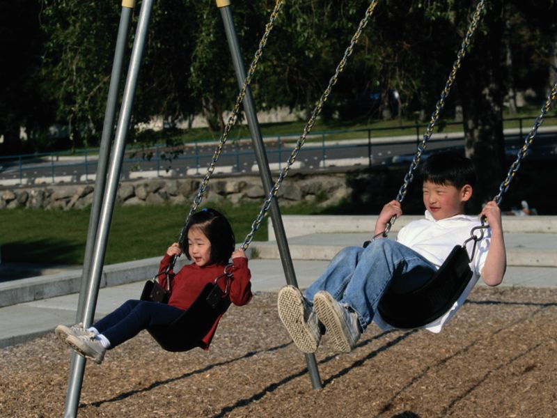 News Picture: For City Kids With Asthma, Nearby Green Space Is Key