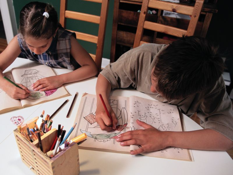 Exercise + Classwork May = Better Math Scores