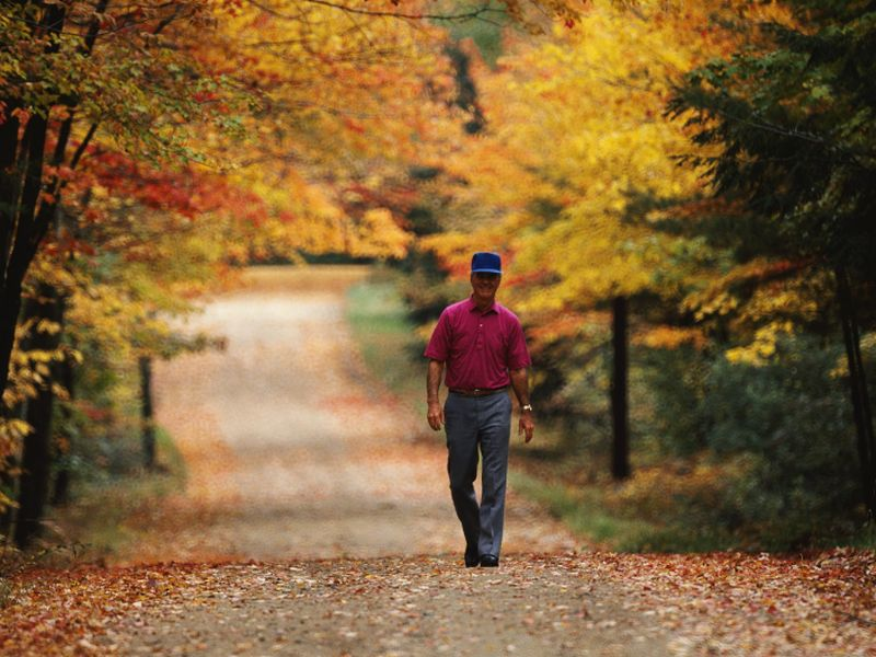 Turn Over a New Leaf This Fall — Start Exercising