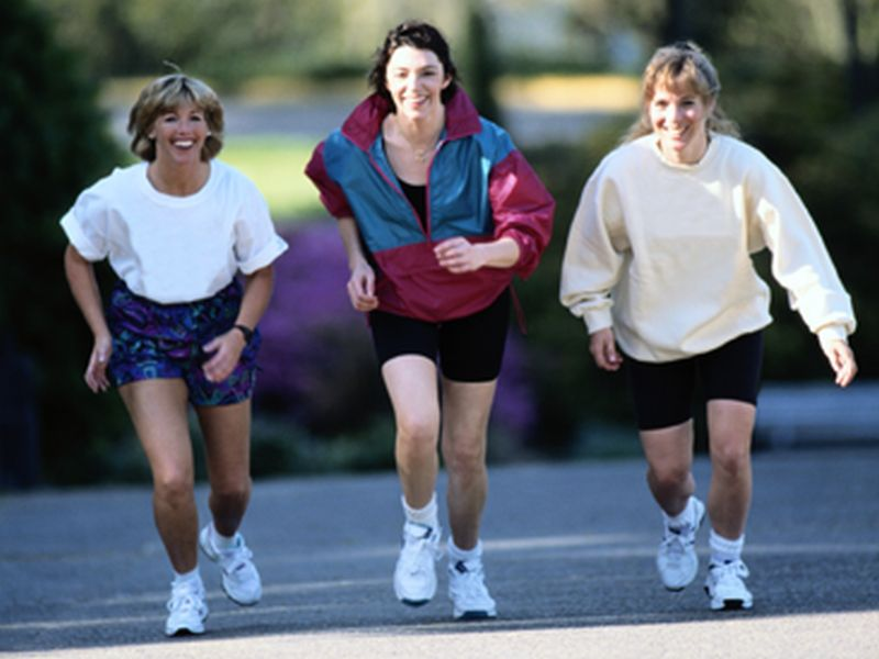 News Picture: More Exercise, Fewer Pounds: Cut Your Heart Failure Risk