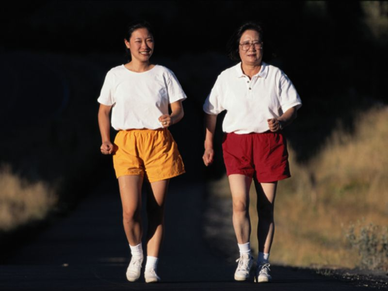 News Picture: Walking vs. Running -- Which Is Better?