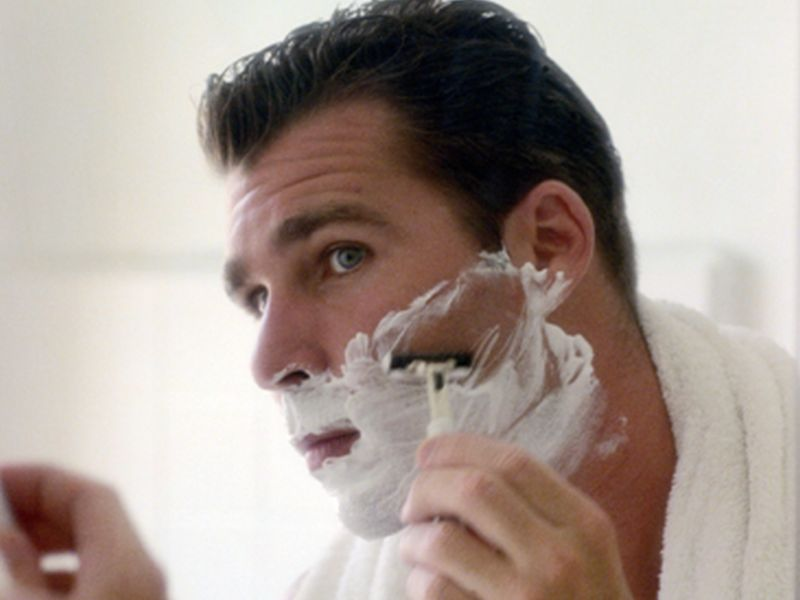 News Picture: How to Get That Perfect Shave