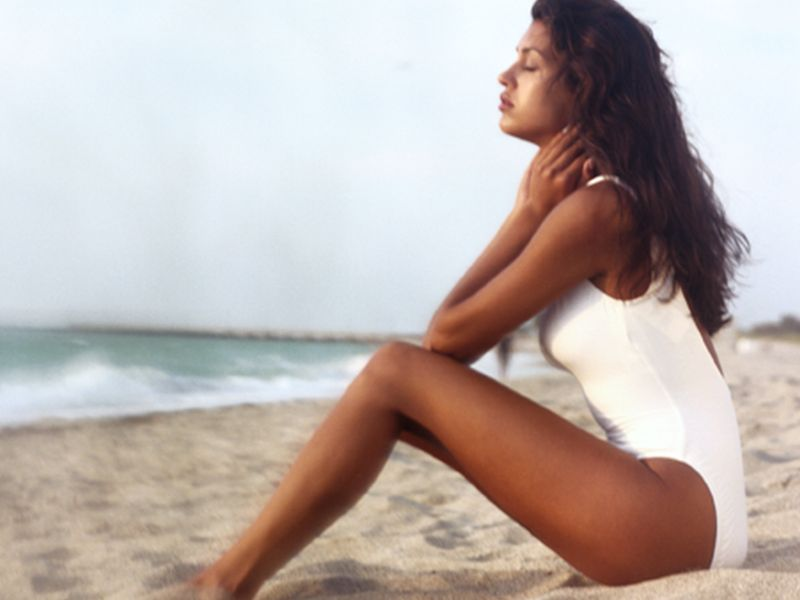News Picture: Tanning May Limit Skin's Ability to Produce Vitamin D: Study