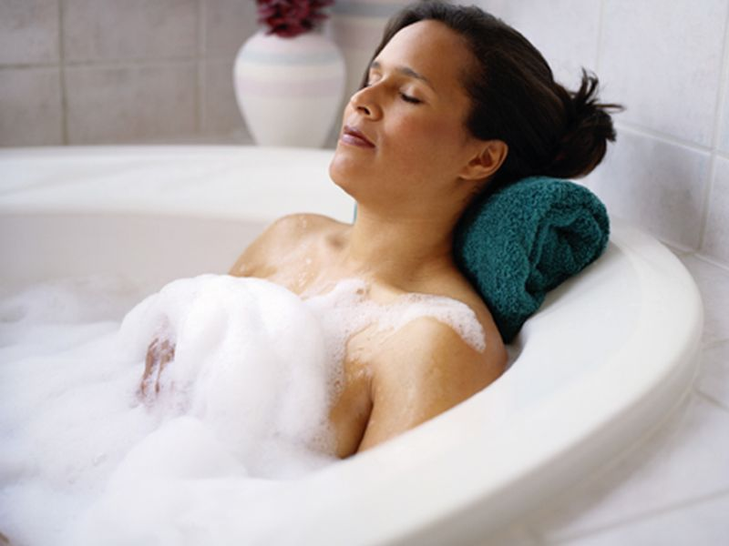 Warm Bath Can Send You Off to a Sound Slumber, Study Finds