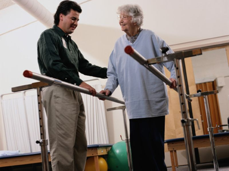News Picture: Push Stroke Patients Harder for Better Gains in Walking: Study