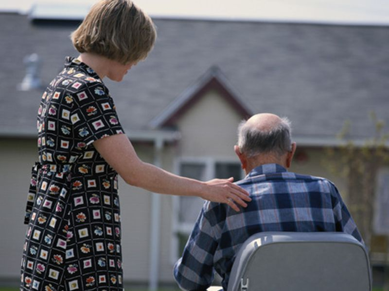 News Picture: As Caregivers, Women May Suffer More Than Men