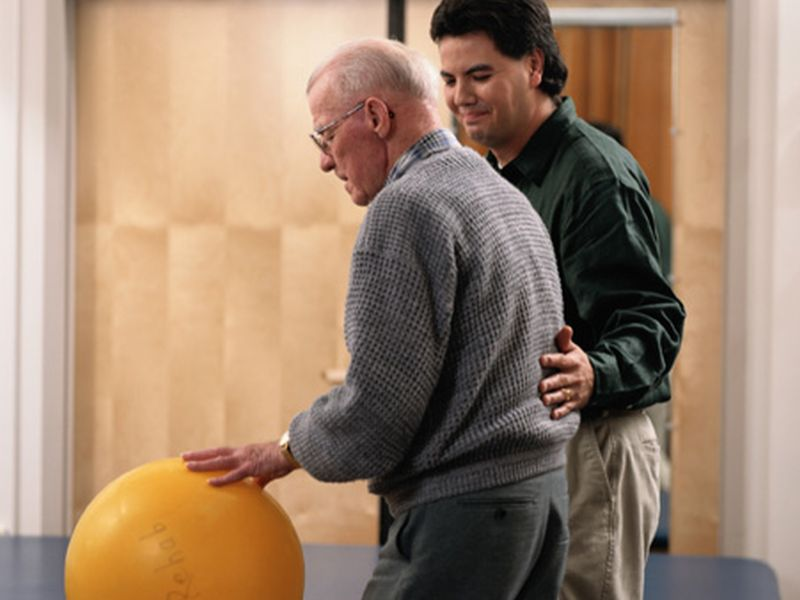 'On the Move' Group Exercise Program Aids Walking in Elderly