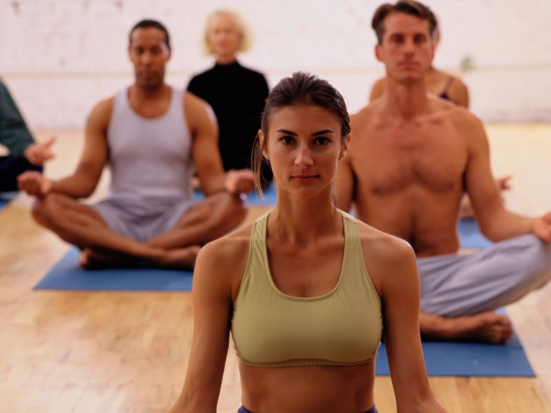 News Picture: Hold That Pose: Yoga May Ease Tough Depression