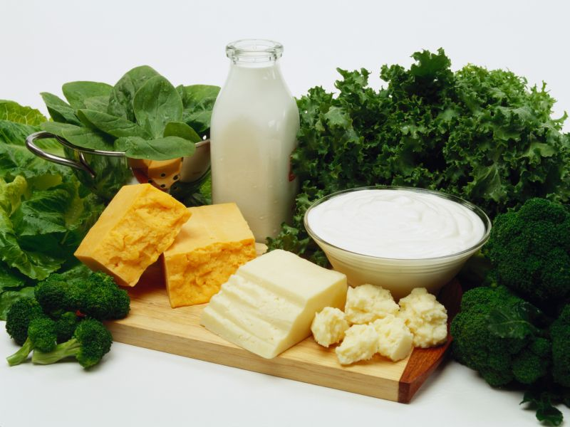 News Picture: Older Bones Benefit From Dairy Plus Vitamin D