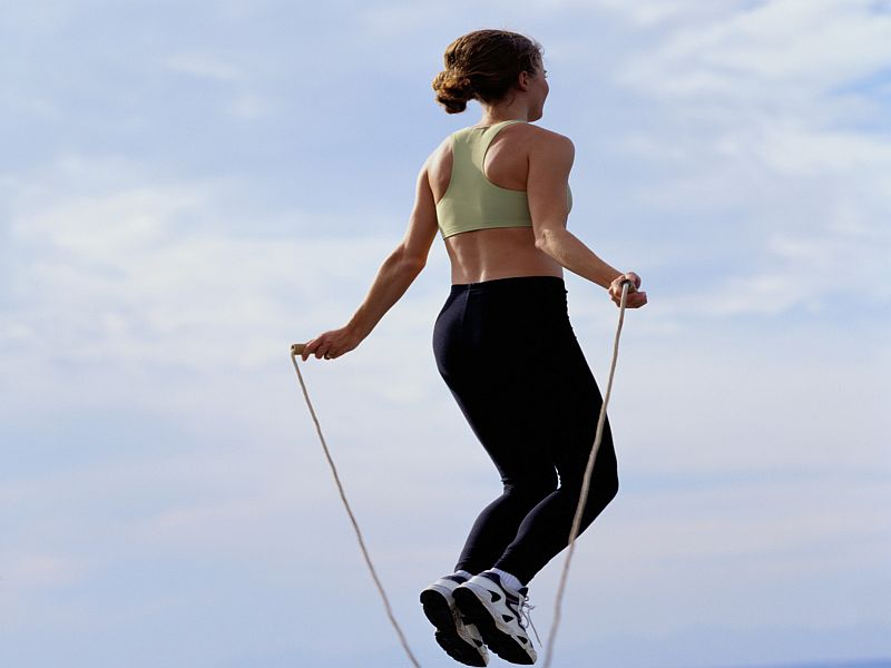 News Picture: Jump Into Plyometrics -- the Exercises to Power Muscles
