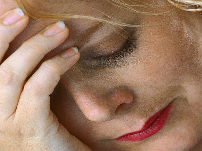 Anxious Women May Want to Keep an Eye on Their Bone Health
