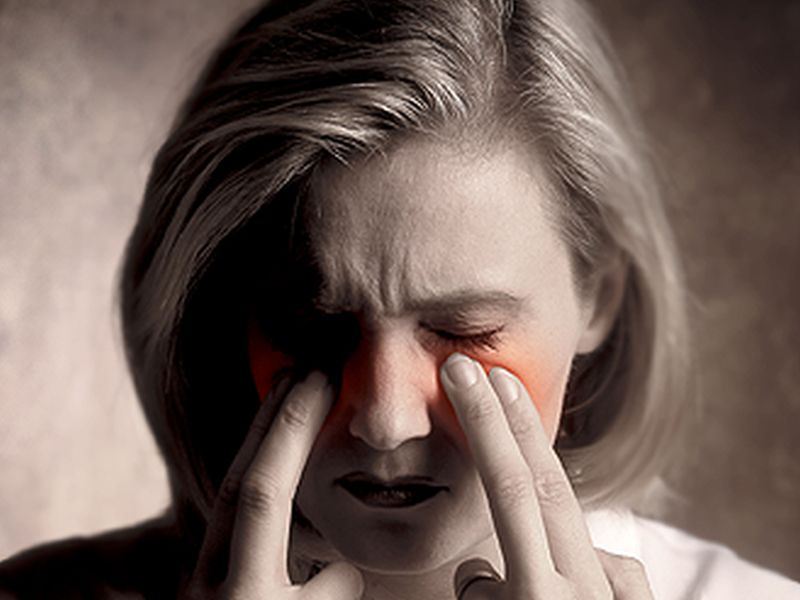 News Picture: Sinus Trouble Can Lead to Depression, Lost Work