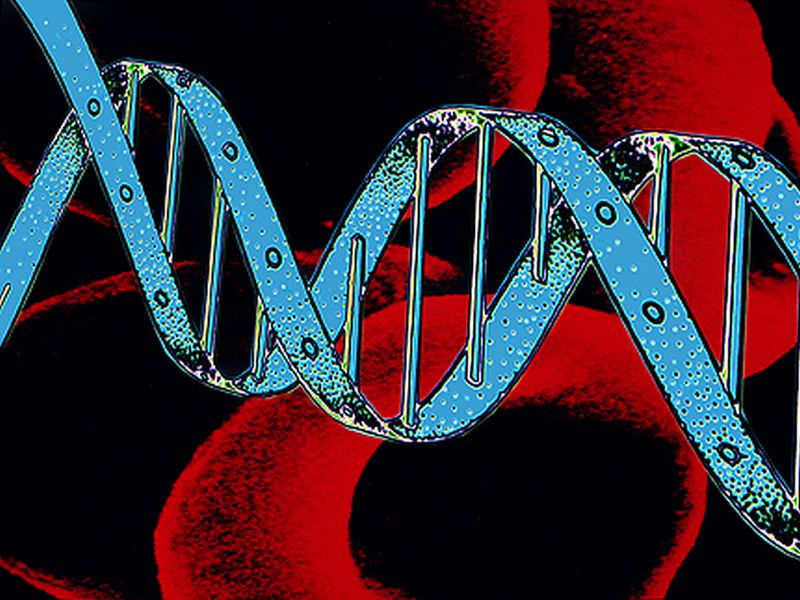 News Picture: Five New Genes Linked to Colon Cancer