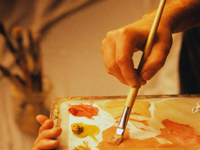 News Picture: Artists' Brushstrokes May Offer First Hints of Brain Disease