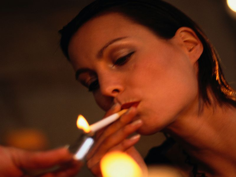 Smoking Raises Aneurysm Risk for Women