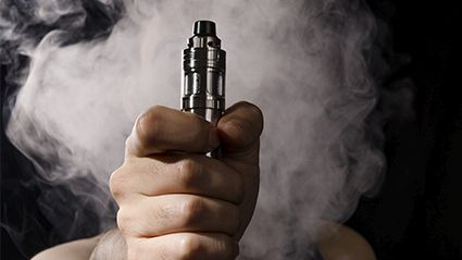 Vaping May Have Triggered Lung Illness Typically  Only Seen in Metalworkers