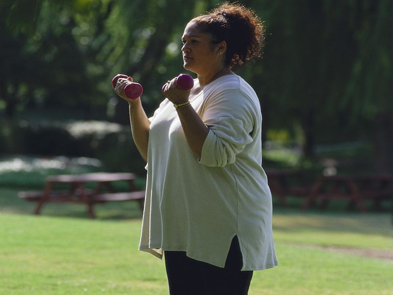 News Picture: Cancer Survivors More Prone to Obesity, Study Finds