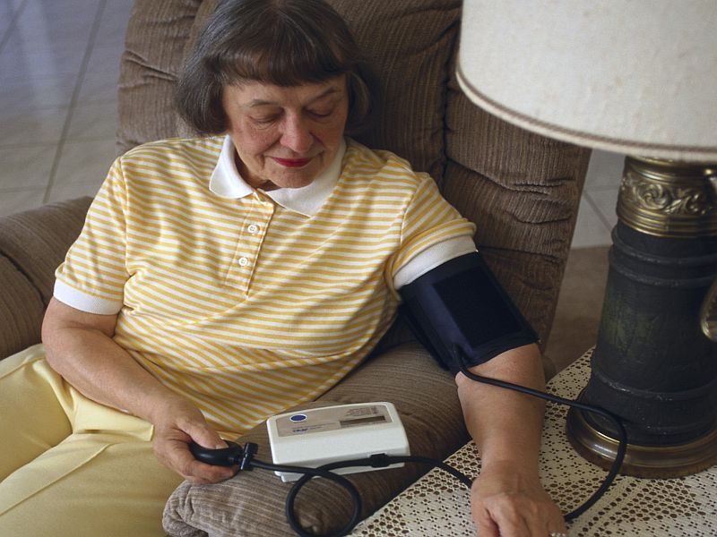 News Picture: Blood Pressure Fluctuations Tied to Dementia Risk in Study