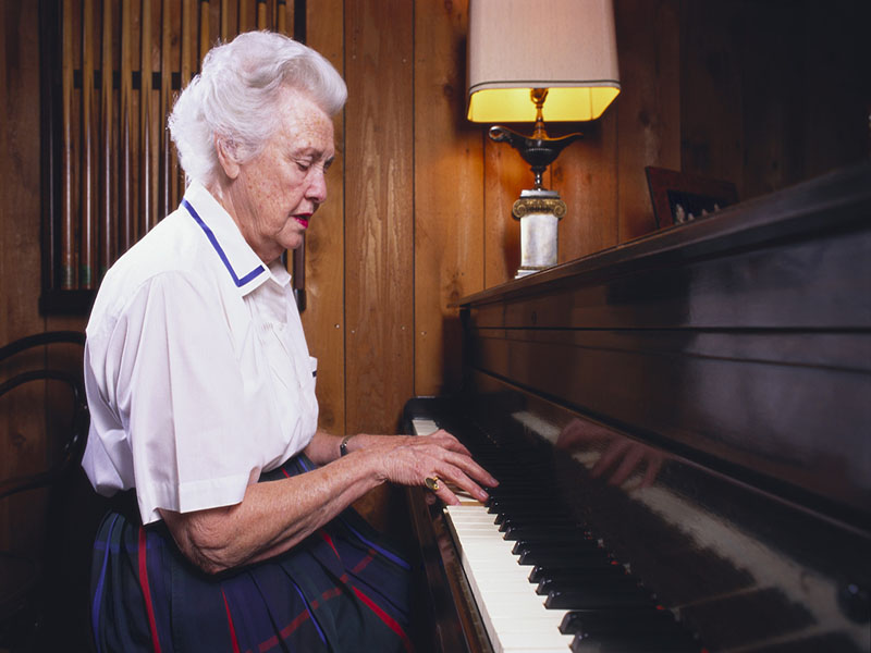 Music May Calm the Agitation of Alzheimer's
